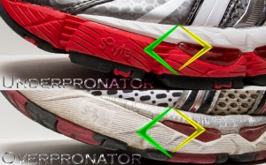 underpronate, overpronate, pronation, running, shoes, running shoes, injury prevention, training