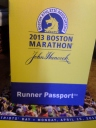 runners passport, boston marathon, marathon training