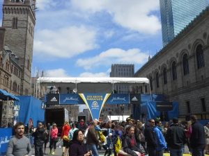 Boston Marathon course