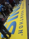 boston marathon, boston marathon finish line